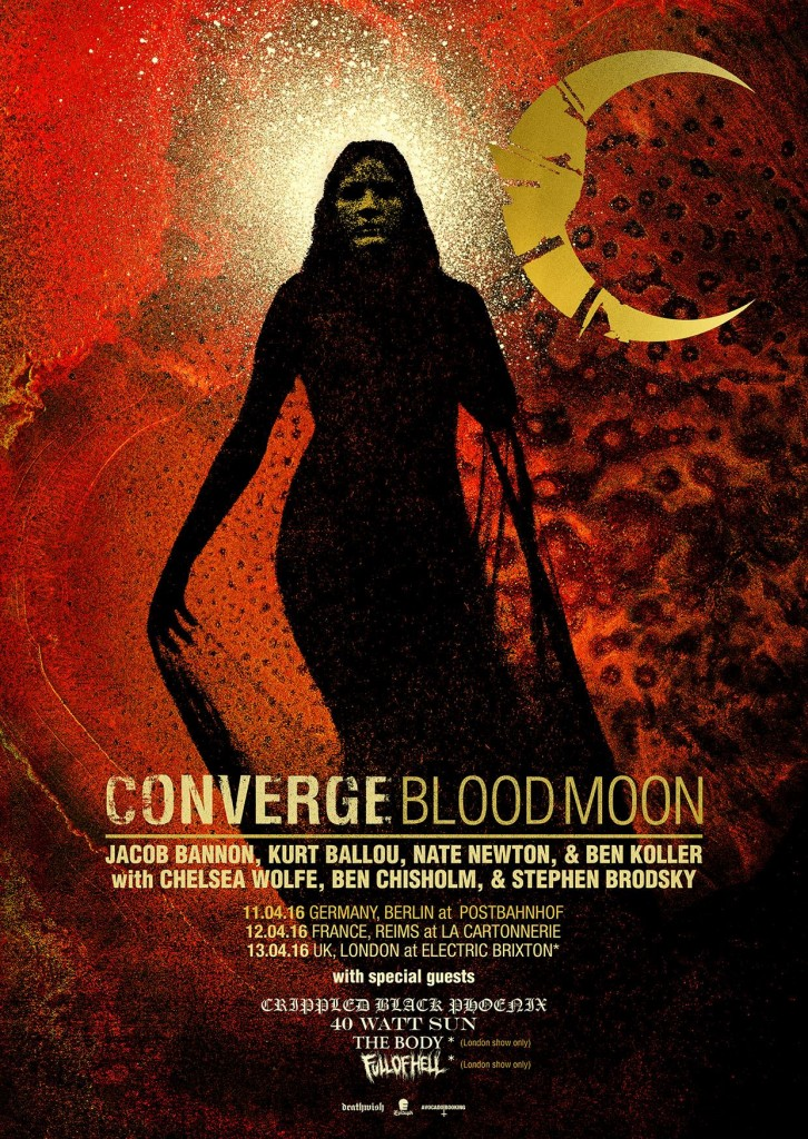 Converge blood moon mini tour 2016